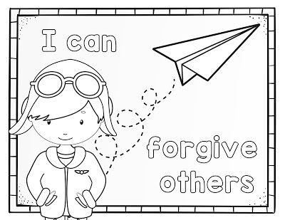 I Can Forgive Others Primary Lesson Helps Primary 2 Lesson 40