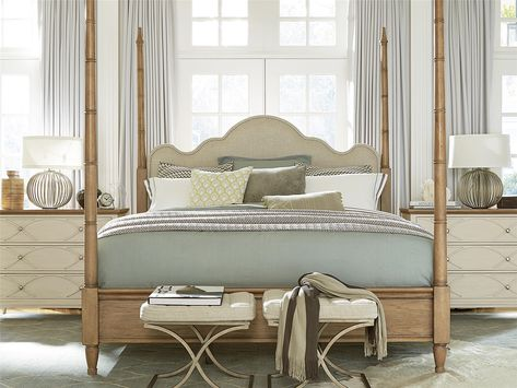 french modern queen poster bed frame ono island four poster bed rh pinterest com au
