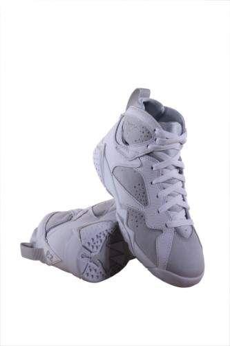 big sale ada62 e6ca7 Boys Air Jordan 7 Retro BG White/Silver 304774-120 Size 5.5Y ...