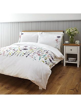 John Lewis Partners Soft And Silky Leckford Duvet Cover And