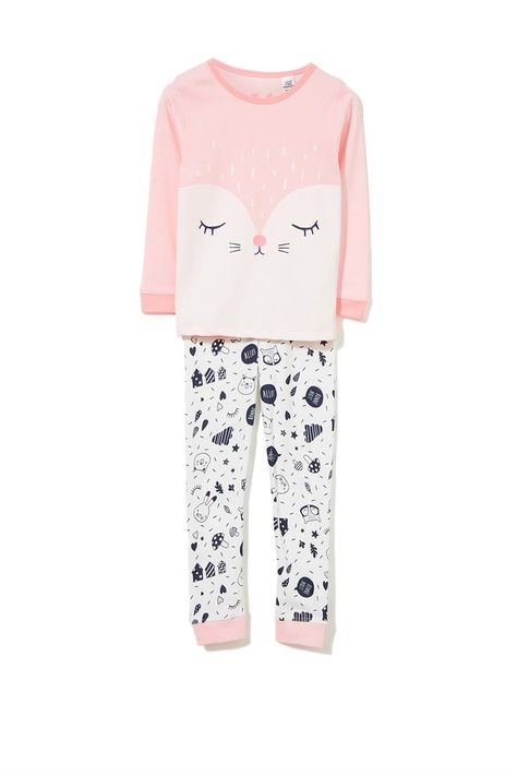 Alicia LS Girls PJ set