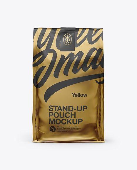 Download Download Psd Mockup Bag Coffee Coffee Bag Coffee Pouch Dog Food Bag Food Bag Food Package Glossy Metallic Free Psd Mockups Templates Mockup Free Psd Mockup Psd