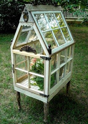 Best Drivhus Images On Pinterest Garden Ideas Gardening And - Build small greenhouse with old windows