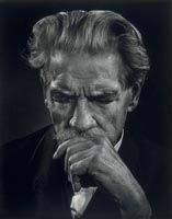 Albert Schweitzer (1875-1965), 19 June 1954, Yousuf Karsh