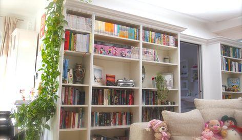So verwandelst du dein Billy von Ikea in ein edles Einbauregal - hausbibliothek regalwand im wohnzimmer