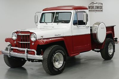 1958 Jeep Willys 350v8 Th400 4x4 Must See Truck Old Trucks For