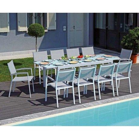 Tavolo Da Terrazzo Allungabile.Tavolo Da Esterno Allungabile In Alluminio Pietra Ligure Di