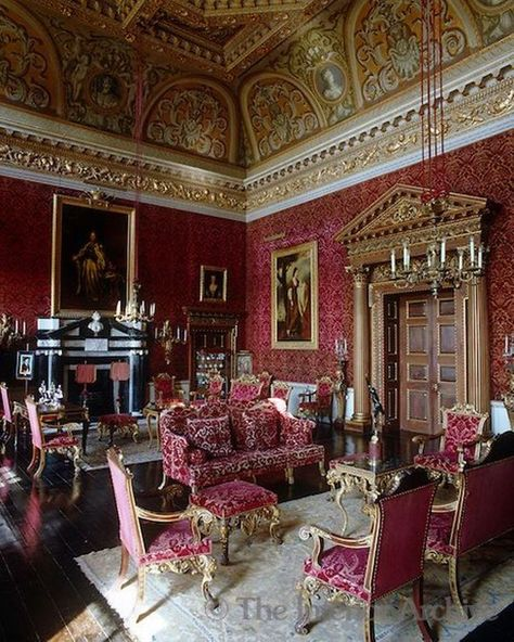 Frenchinterior Design Ideas: A Portrait Of Catherine The Great Hangs Above The