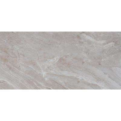 Bergamo Gris 12 In X 24 In Glazed Ceramic Floor And Wall Tile 16 Sq Ft Case Ceramic Floor Glazed Ceramic Wall Tiles