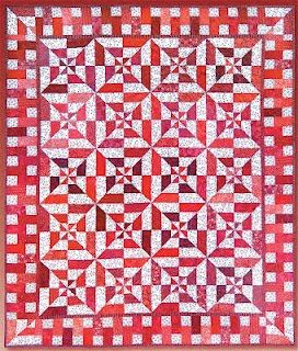 Free Pattern Red White Left Right Quilt By Lynn Harris Red