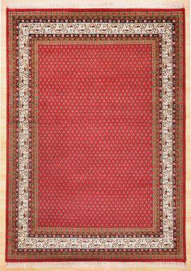 Orientteppich Chandi Mir 200 Rot Orientteppich Teppich Orient