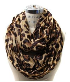 I want this Leopard Infinity Scarf or just a leopard scarf.
