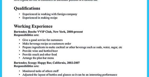 Do You Know How To Make A Powerful And Interesting Bartender