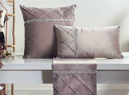 Set 2 cojines rombos rosa palo (45x45cm) en 2020 | Cojines