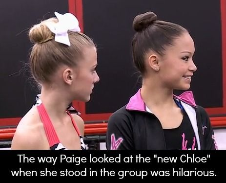 "I love and miss Paige! Thank goodness the ""New Chloe"" is gone tho. The origin… I love and miss Paige! Thank goodness the ""New Chloe"" is gone tho. The original Chloe my Chlo Bird is Irreplaceable ❤️ Facts About Dance, Dance Moms Facts, Dance Moms Dancers, Dance Mums, Dance Moms Girls, Dance Moms Moments, Dance Moms Quotes, Dance Moms Funny, Paige Hyland"