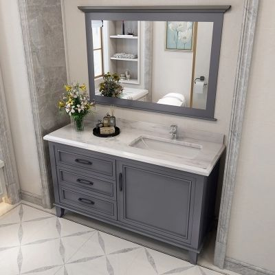 360usd 40inch Grey Bathroom Vanity Cabinet Different Size Is