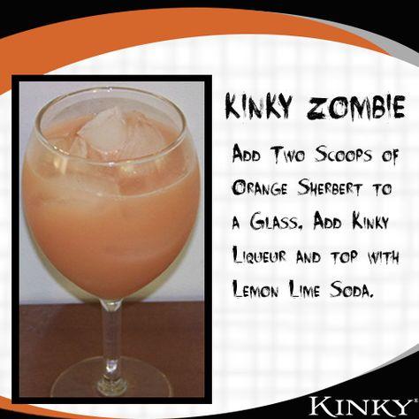 KINKY Zombie #Halloween #Cocktail #Recipe