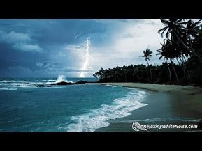 YouTube | ocean waves and rain | Ocean sounds, Waves, Sound