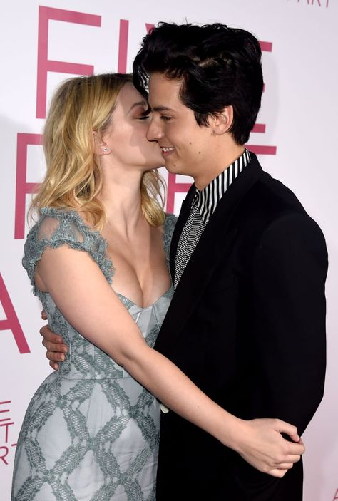 Lili Reinhart Gave Cole Sprouse a Sweet Kiss at His Movie Premiere, and I Can't Stop Smiling