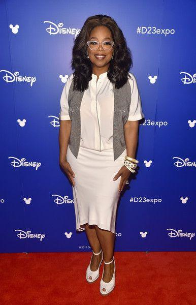 Oprah Winfrey Now - Red Carpet Flashback - Then & Now - Photos