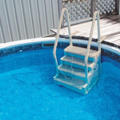 Confer Step-1 Above Ground Swimming Pool Ladder Step System ...