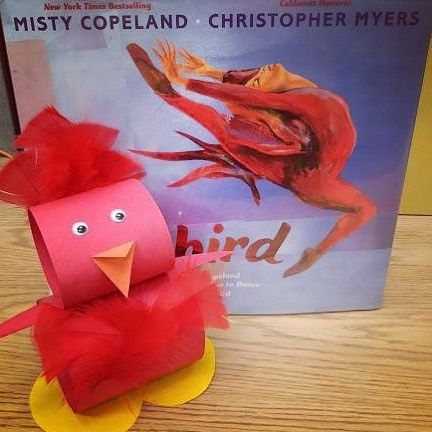 Celebrate Nationallibraryweek At Norwalk Library Today At 4 Pm With A Special Storytime And Art Activity Featuring Library Week Art Activities Misty Copeland