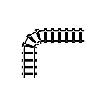 Train Tracks Vector Design Template Illustration Track Clipart Train Icons Template Icons Png And Vector With Transparent Background For Free Download Train Vector Vector Design Design Template