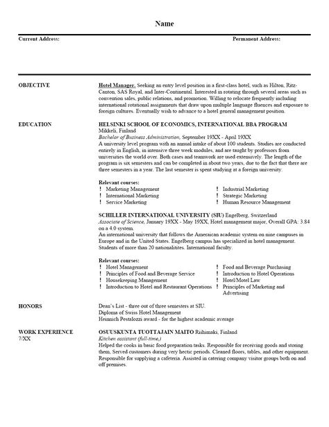Reference Page For Resume Nursing -   wwwresumecareerinfo - General Contractor Resume Sample