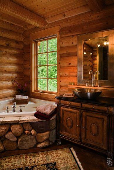 Bathroom Cabinets Bed Bath And Beyond Bathroom Vanities Home Depot Outside Bathroom Ideas Master Bedroom Log Home Bathrooms Log Cabin Bathrooms Log Homes