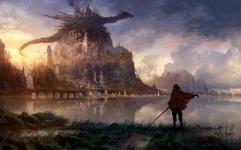 Wallpaper 4k Hd Phone Trick 4k In 2020 Fantasy Landscape Sci Fi Wallpaper Fantasy Art Landscapes
