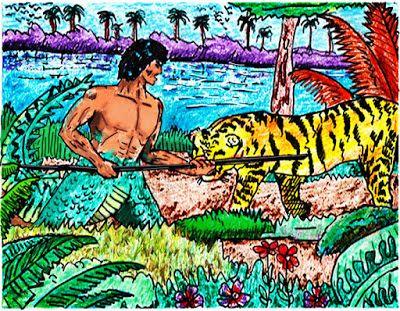 Saul El Hombre Caiman Odisea En El Canoclic En La Imagen Para Leer Las A La Odisea Caimanes Animales Feroces