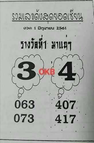 verschillende stijlen goedkoop kopen gratis verzending Pin on Thai Lottery