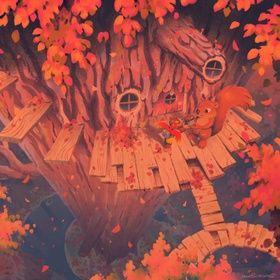 Click Clock Wood Fall An Art Print By Matt Rockefeller In 2020 Art Art Prints Giclee Art Print