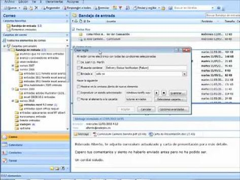 Outlook Crear Carpetas Y Dirigir Los Correos A Carpetas Cursos Outlook Cap 02 Youtube Trucos Para Android Respaldos Youtube