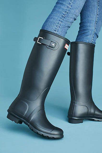 Hunter Original Tall Rain Boots Gummistiefel Regenstiefel
