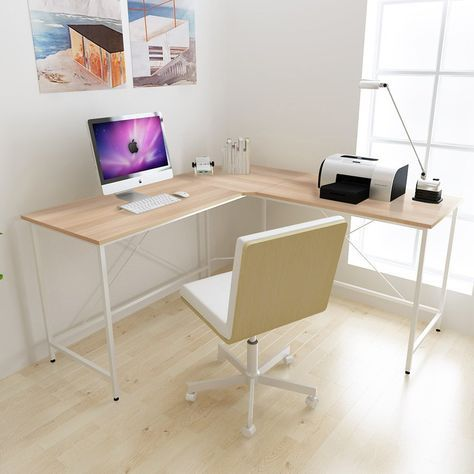 Corner Desk Computer Table White Corner Desk Office Computer Table Minimalist Computer Desk