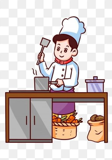 Cartoon Character Cook Cook Chef Hat Clipart Cartoon Vector Cartoon Png Transparent Clipart Image And Psd File For Free Download Cartoon Vector Cartoon Background Cartoon