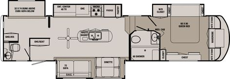 2 Bedroom Class A Motorhome Floor Plans Search Your Favorite Image