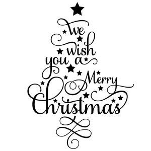 We Wish You A Merry Christmas Word Tree Christmas Words Christmas Stencils Christmas Calligraphy