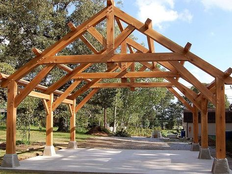 The Englewood With Images Timber Frame Pavilion Timber