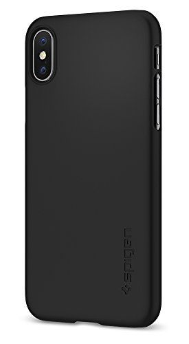 brand new dc03c 3d6e6 Spigen Thin Fit iPhone X Case with SF Coated Non Slip Matte Surface ...