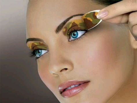 Camo eyes . . for when I go hunting!!