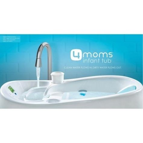 52922fe0d 4moms Infant Tub Review   GIVEAWAY - The Wise Baby