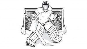 Eishockey Malvorlage Ausmalbilder Sketches