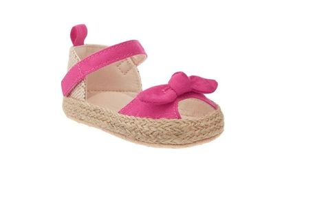 12583106d9c6e Old Navy baby girls sandals Bow Tie Espadrille shoes size 12-18 month   OldNavy  Sandals