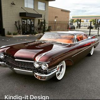1960 Copper Caddy     Kindig it design on Bitchin' Rides -   Sweet