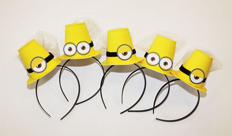 135930ac4 Despicable Me Minion Inspired Head Bands Minions Costume Kids ...
