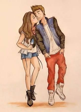 Image Result For Tumblr Dibujos De Justin Bieber Y Selena Gomez Cute Couple Drawings Couple Drawings Best Friends Brother