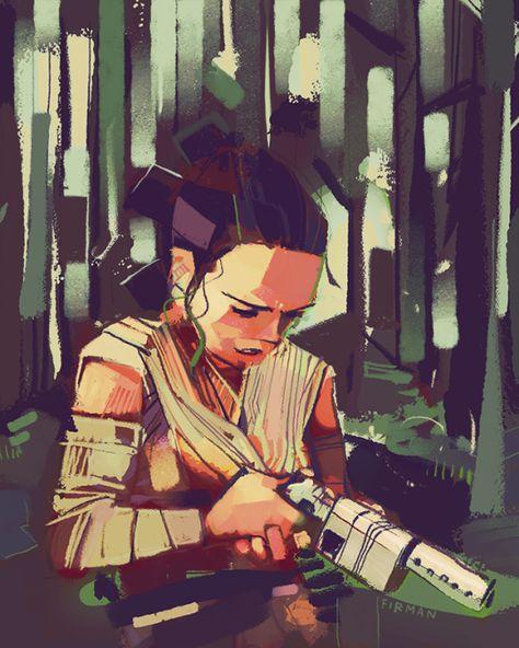Rey by Firman Art