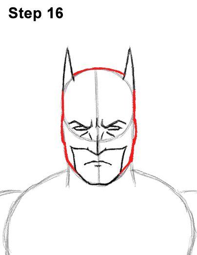 Batman Full Body Drawing 16 With Images Joker Drawings Body
